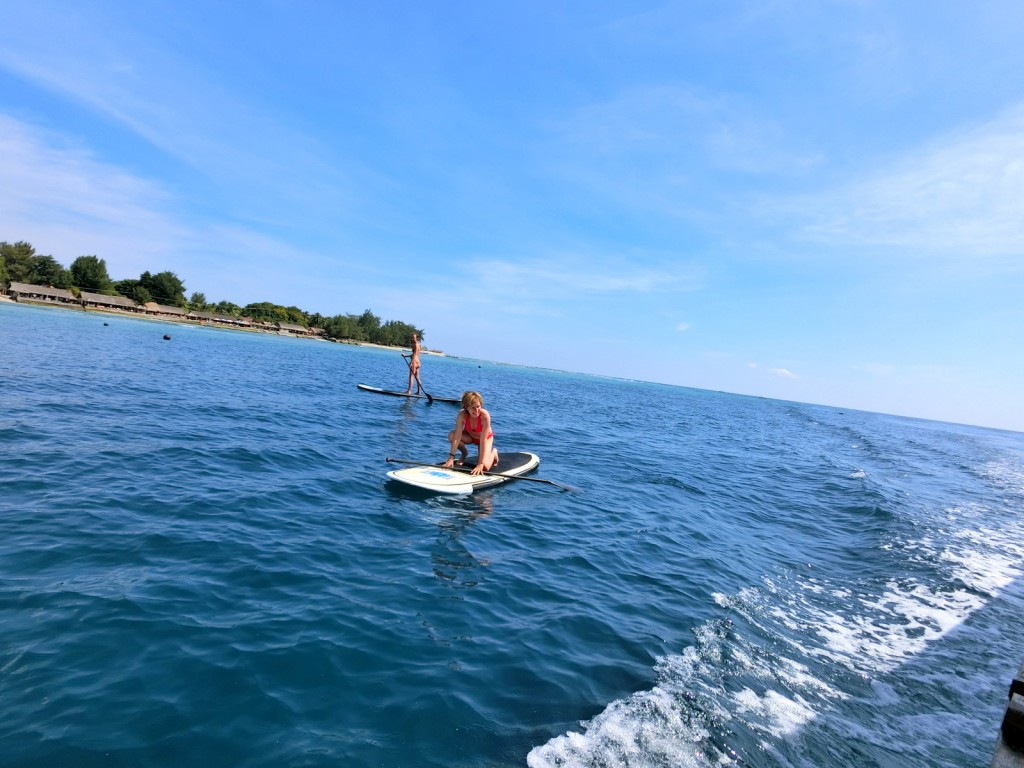 Stand Up Paddling Gili Islands