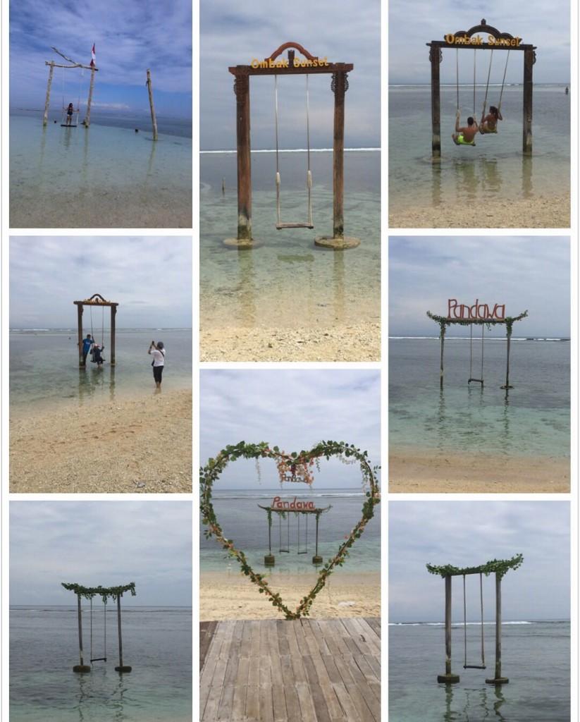 Gili Islands Swings
