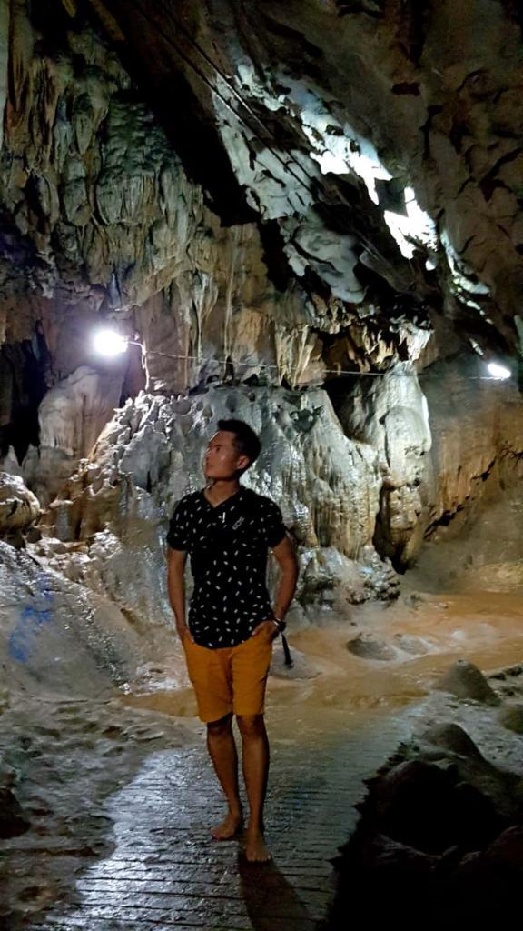 Inside Bayin Nyi Cave