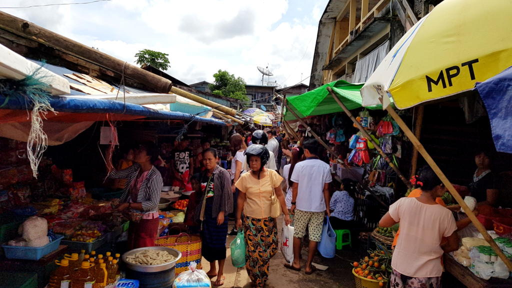Myanmar Traditional Market