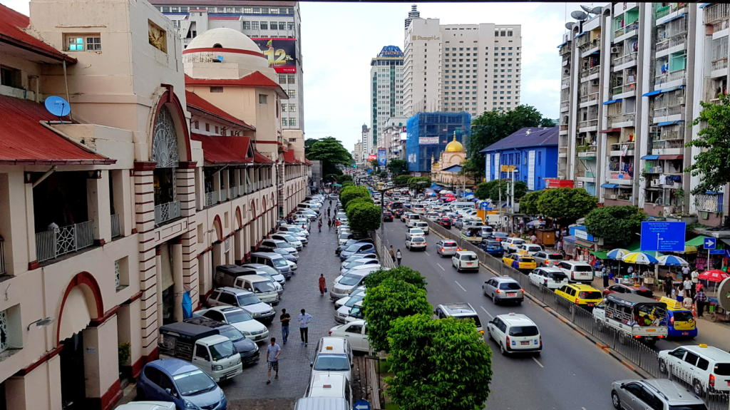 Myanmar's Traffic Jam