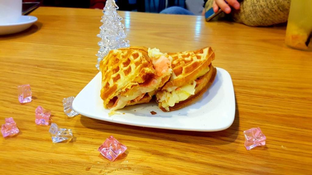 Vegetarian Savoury Waffle