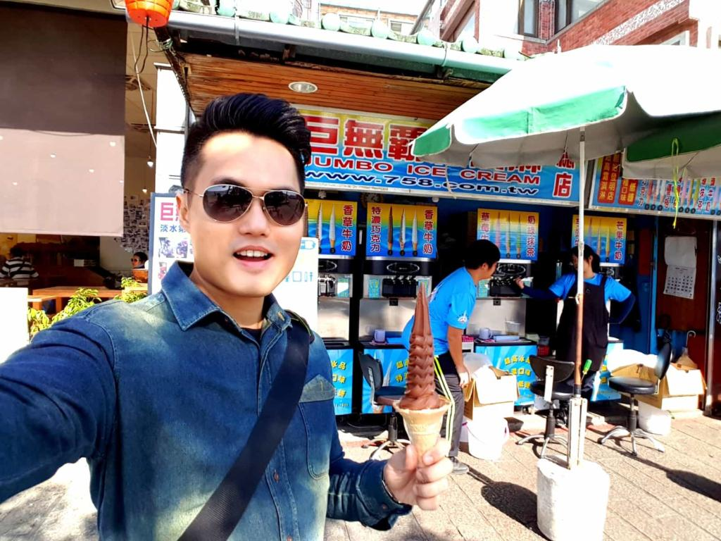 Jumbo Ice Cream Taiwan