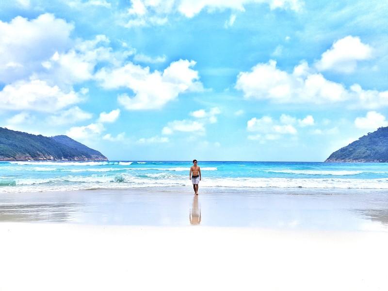 Taaras Resort Beach in Malaysia