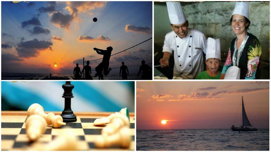 Tip of iceberg of activities by The Taaras Resort! More to come!