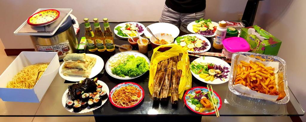 Homemade Vegetarian Food