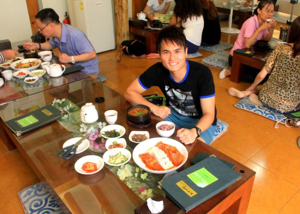 Korean Vegetarian in Seoul, South Korea