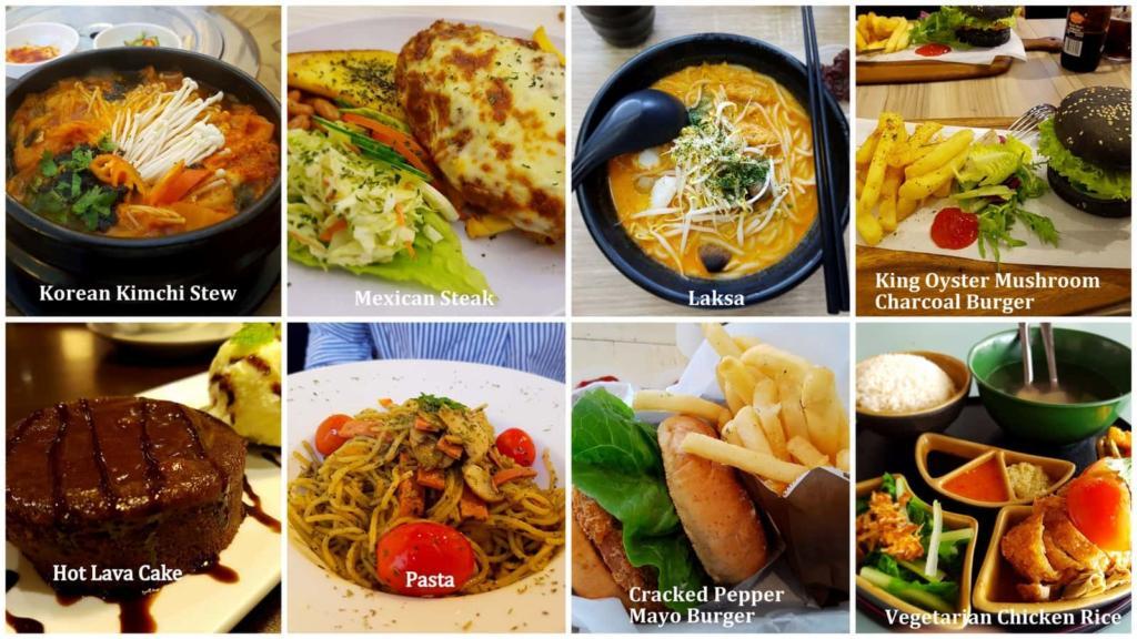 Singapore Vegetarian Food