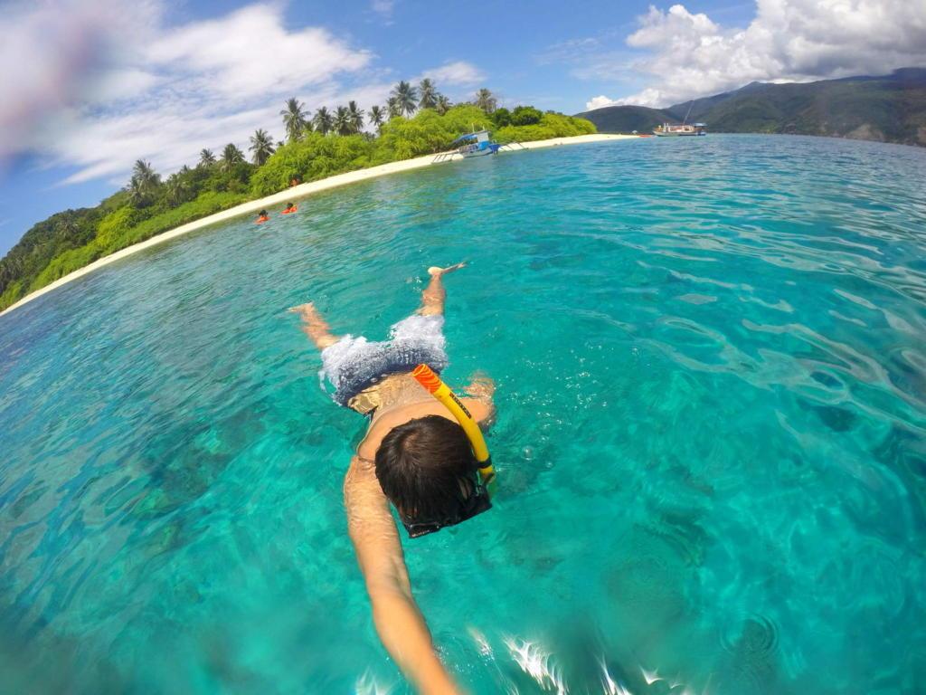 Snorkeling in Davao
