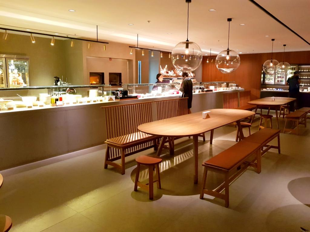 Cathay Pacific Business Class Lounge The Pier Food Hall