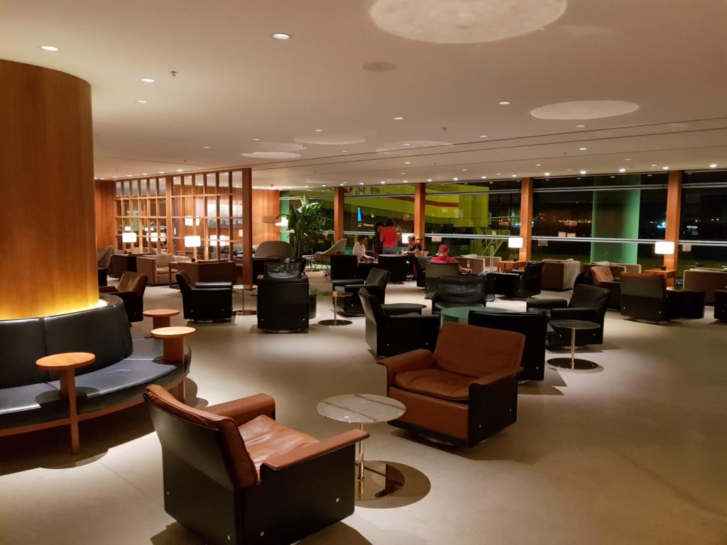 Cathay Pacific Business Class Lounge The Pier