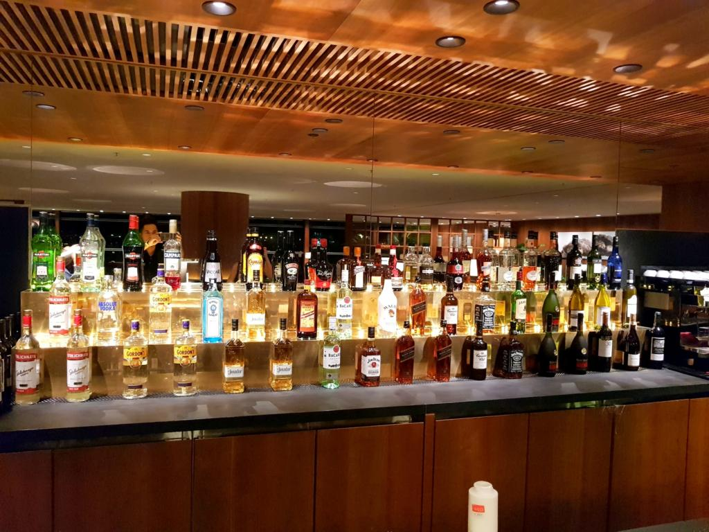 Cathay Pacific Business Class Lounge The Pier Bar