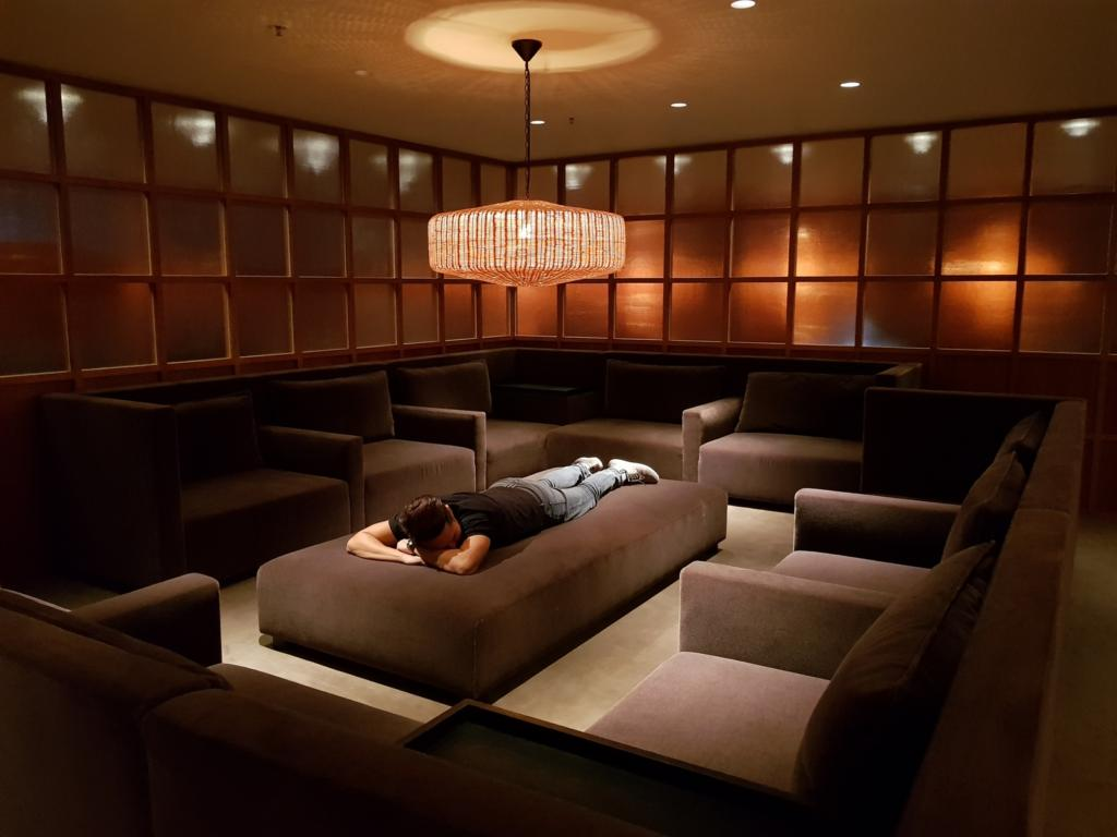 Cathay Pacific Business Class Lounge The Pier Relaxation Room