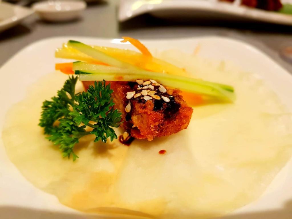 Vegetarian Peking Duck