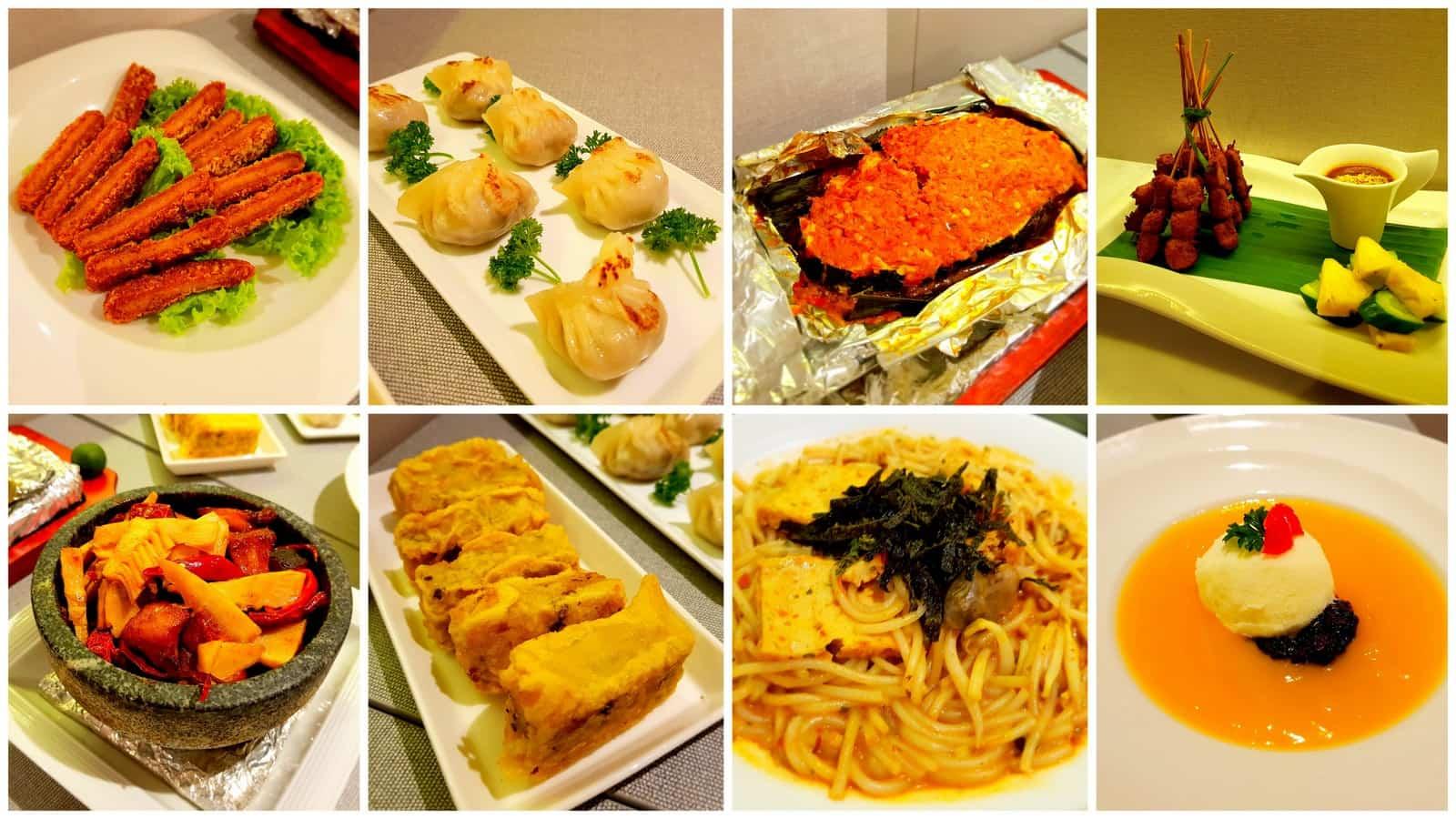premium dining lotus kitchen vegetarian chinatown point - Lotus Kitchen