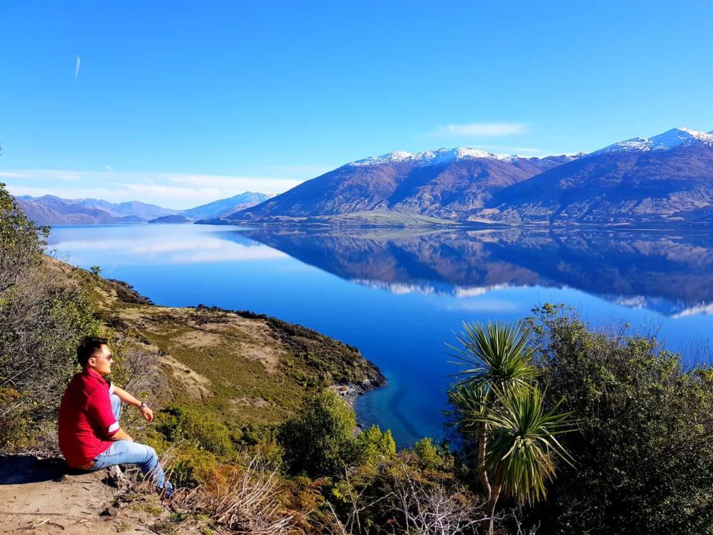 Wanaka Lake New Zealand
