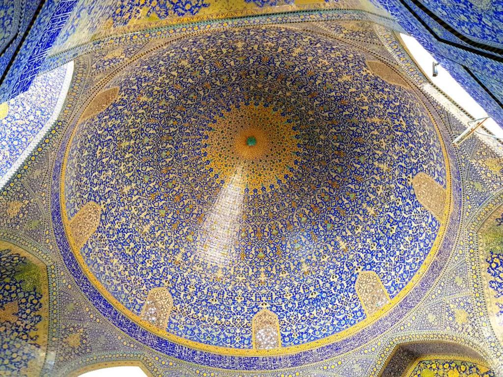 Dome of Grand Mosque, Iran