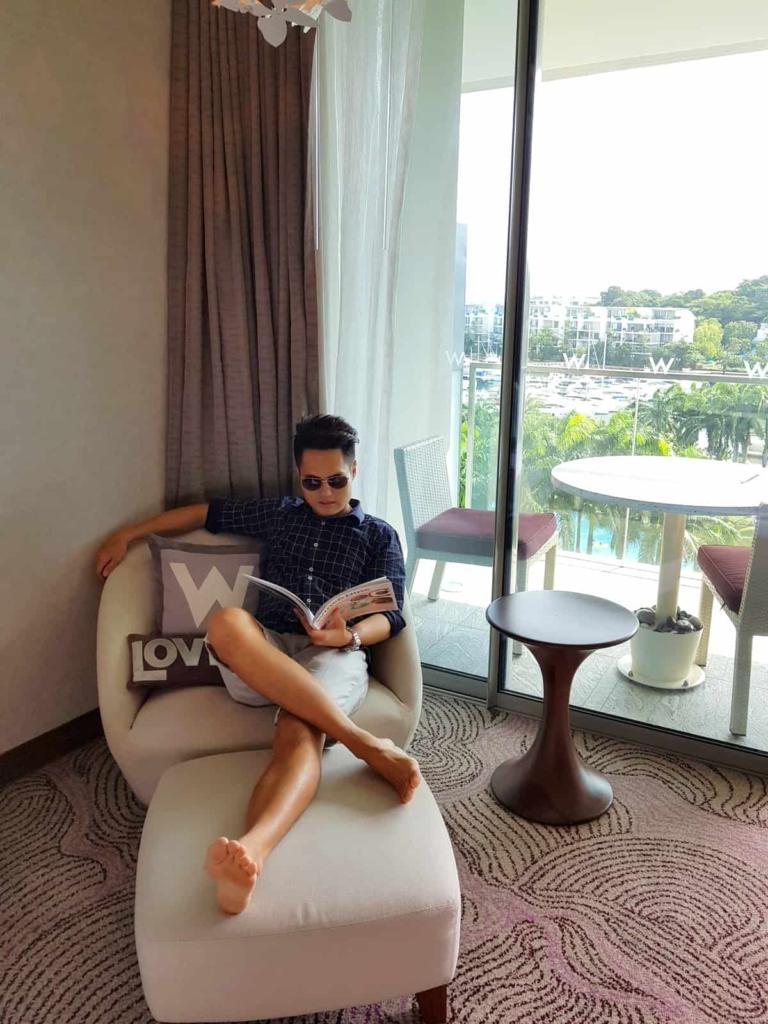 W Singapore Travel Blogger
