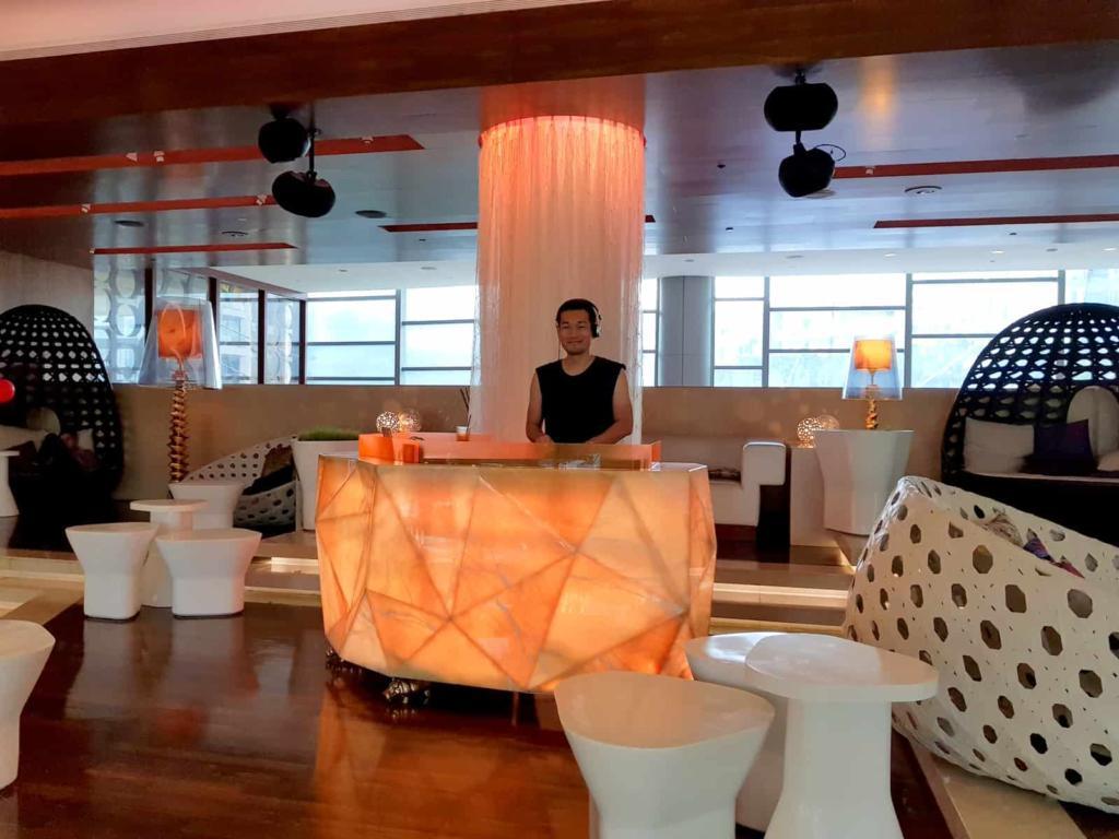 W Singapore Check In Lobby DJ