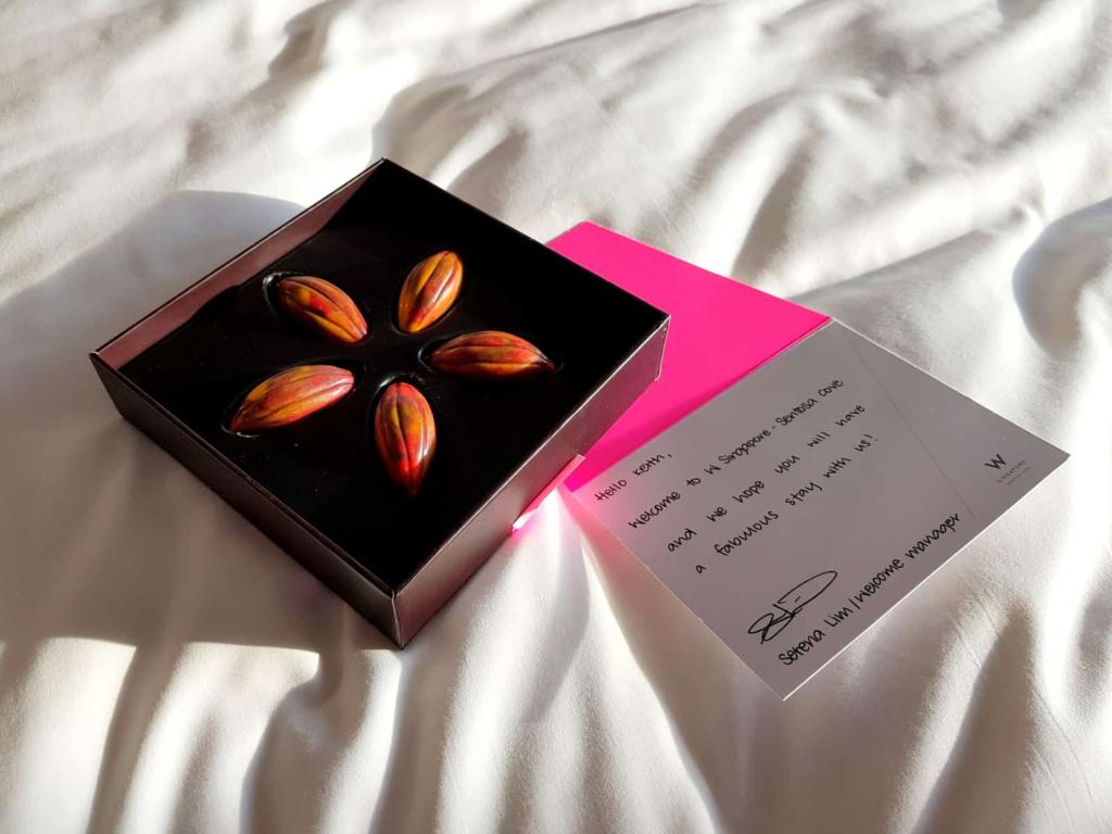 W Singapore Chocolate