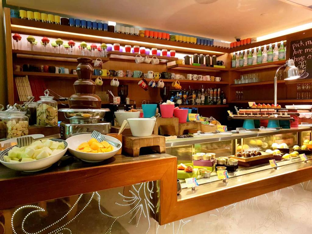 W Singapore Vegetarian Food