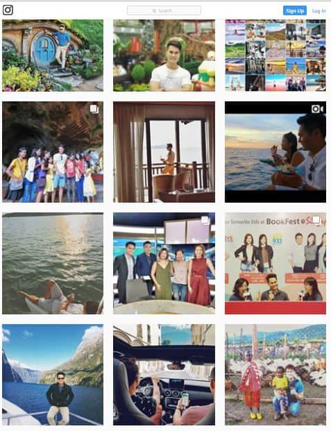 Travel Inspiration 360 Instagram