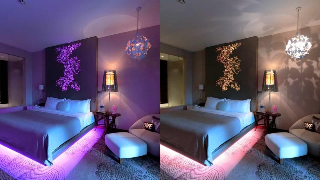 W Singapore Room Lightings