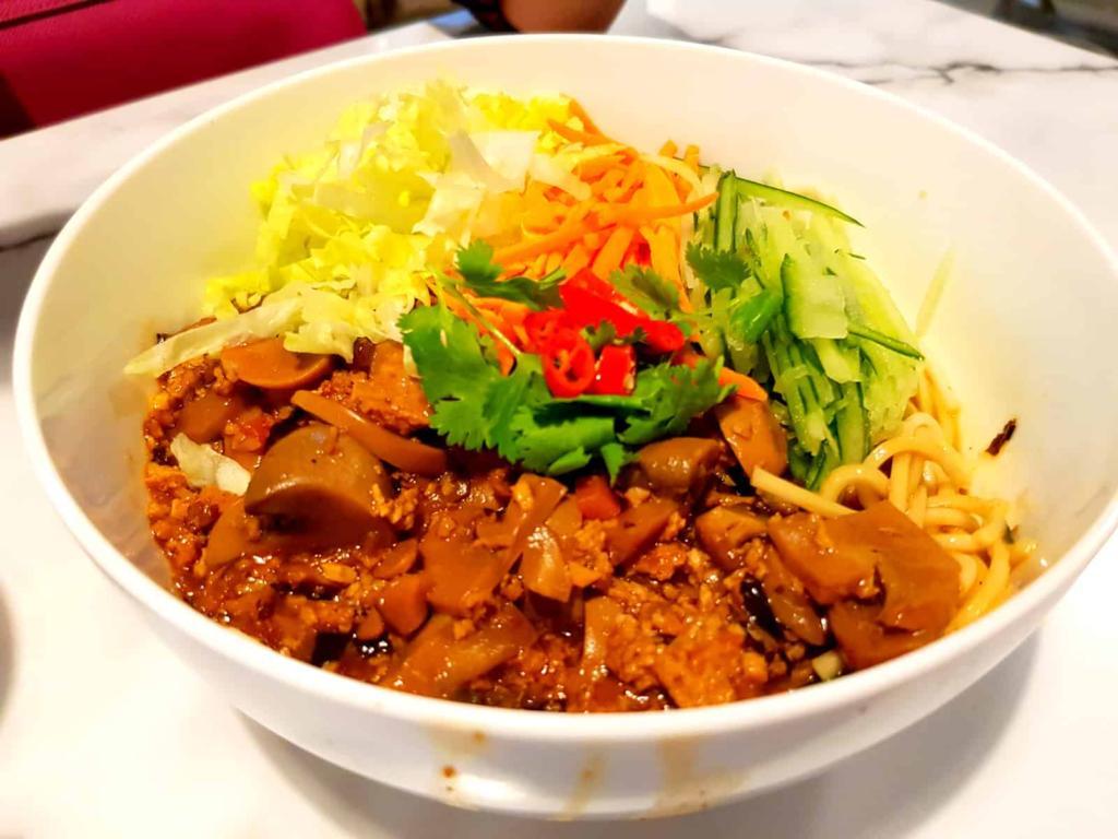 Vegetarian Duck Noodles