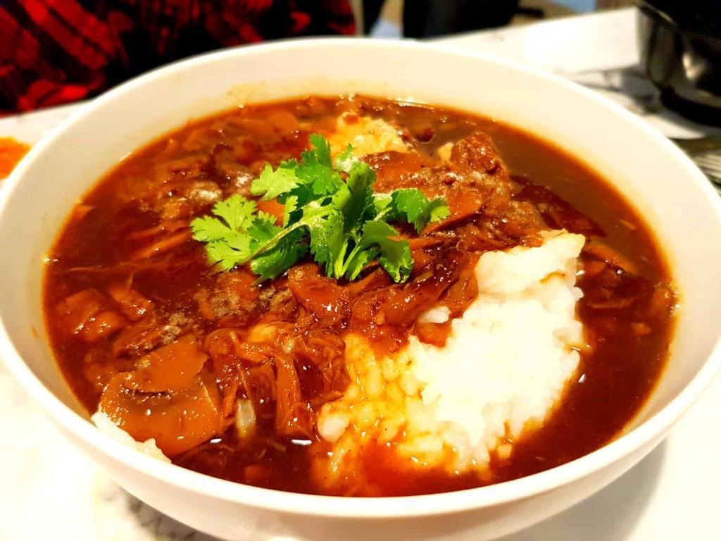 Vegetarian Duck Congee
