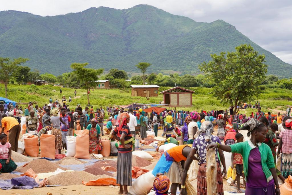 Ethiopian Tribe Market