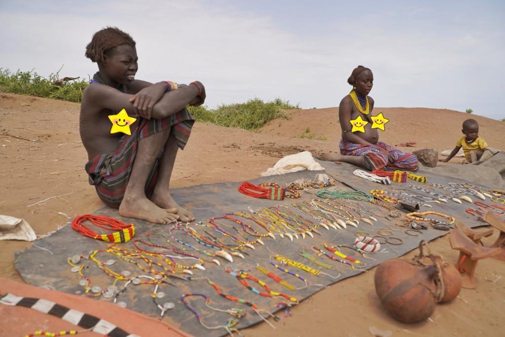 Dassanech tribe market