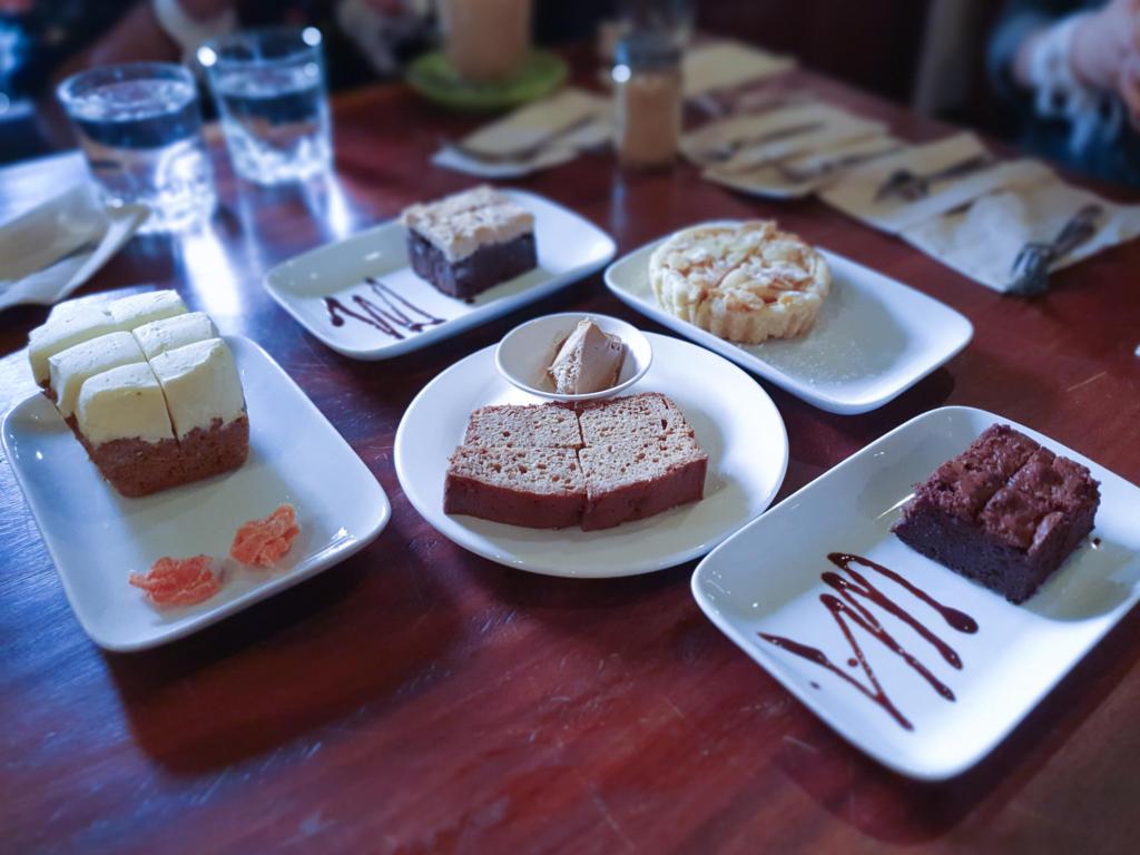Saffron Coffee Cakes