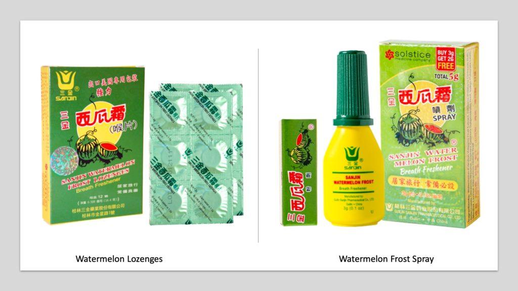 Watermelon Frost Spray Lozenges