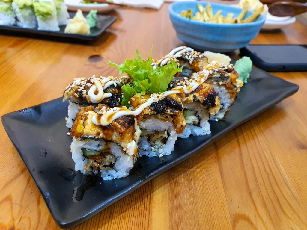 Tofunagi Maki (Singapore Vegetarian)