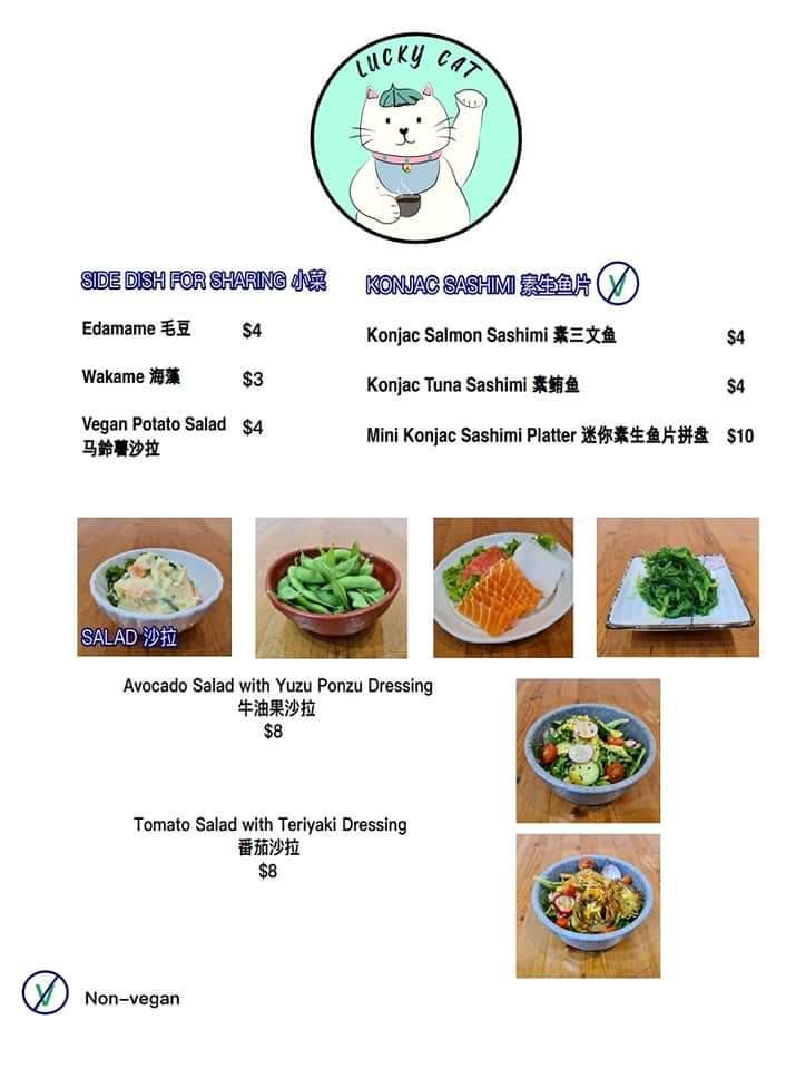 Japanese Vegetarian in Singapore